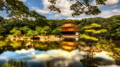 Religious - the golden pavilion: kyoto Wallpapers and Backgrounds