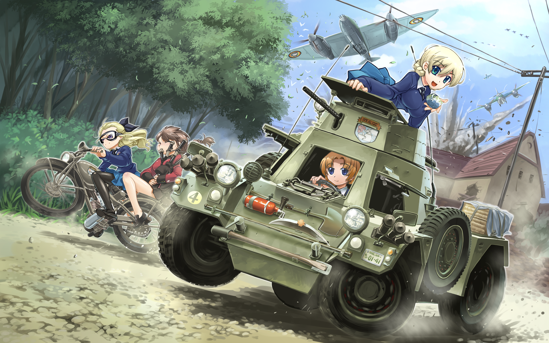 girls panzer