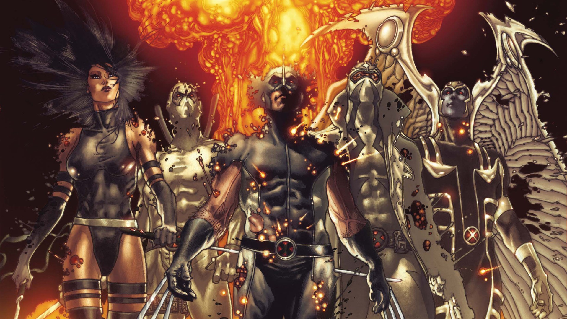 Uncanny X Men Hd: 1 Fear Itself: Uncanny X-Force HD Wallpapers