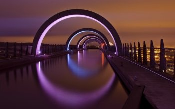 Рукотворное - Falkirk Wheel Wallpapers and Backgrounds ID : 389985