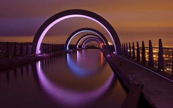 Man Made Falkirk Wheel Buildings Scotland HD Wallpaper | Background Image