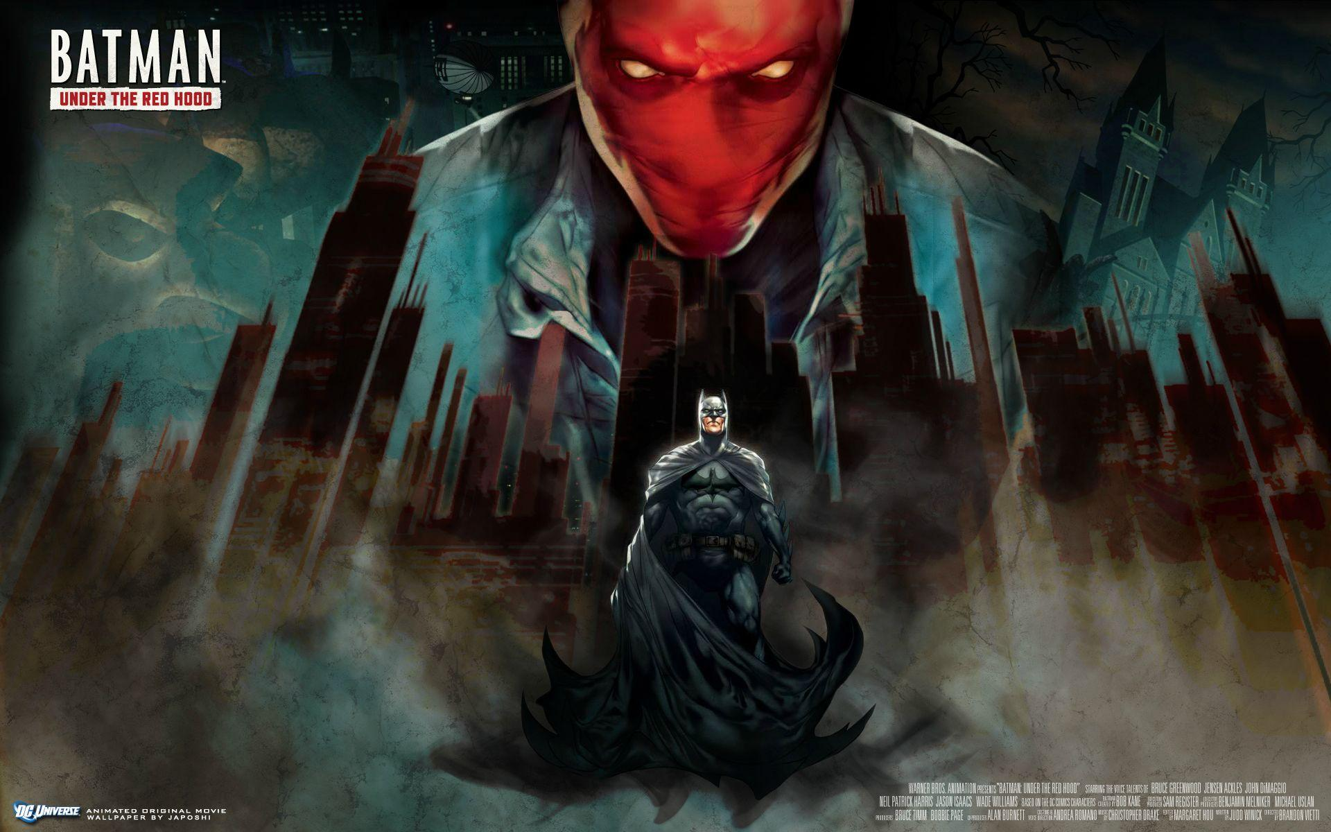 3 batman under the red hood hd wallpapers backgrounds - Hood cartoon wallpaper ...