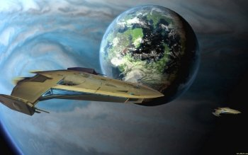 Sci Fi - Spaceship Wallpapers and Backgrounds ID : 390091