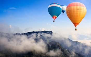 Vehículos - Hot Air Balloon Wallpapers and Backgrounds ID : 390884