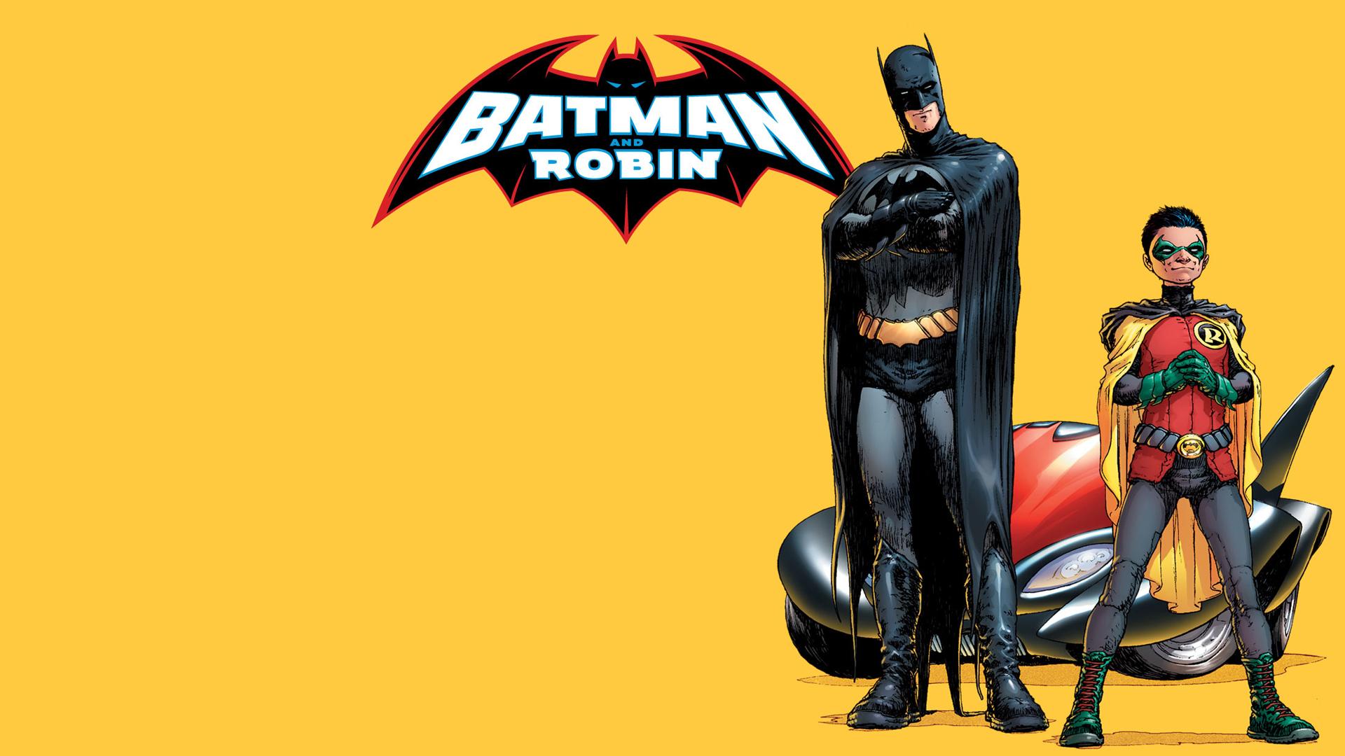Batman Robin HD Wallpaper
