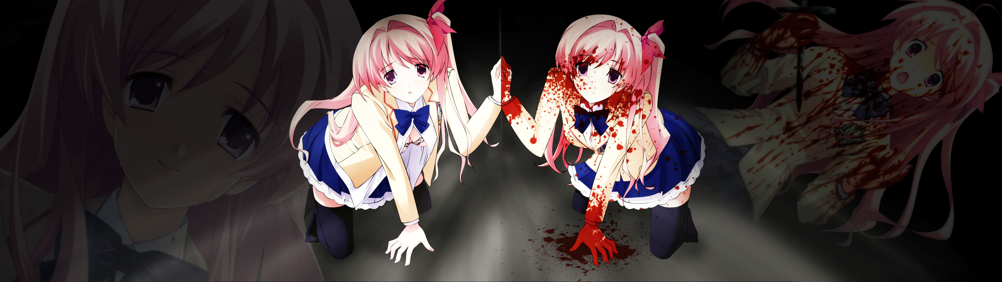 Anime Full Hd Wallpaper And Hintergrund  3840X1080  Id -6566