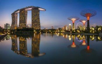 Man Made - Marina Bay Sands Wallpapers and Backgrounds ID : 391119