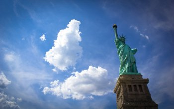 Man Made - Statue Of Liberty Wallpapers and Backgrounds ID : 391306