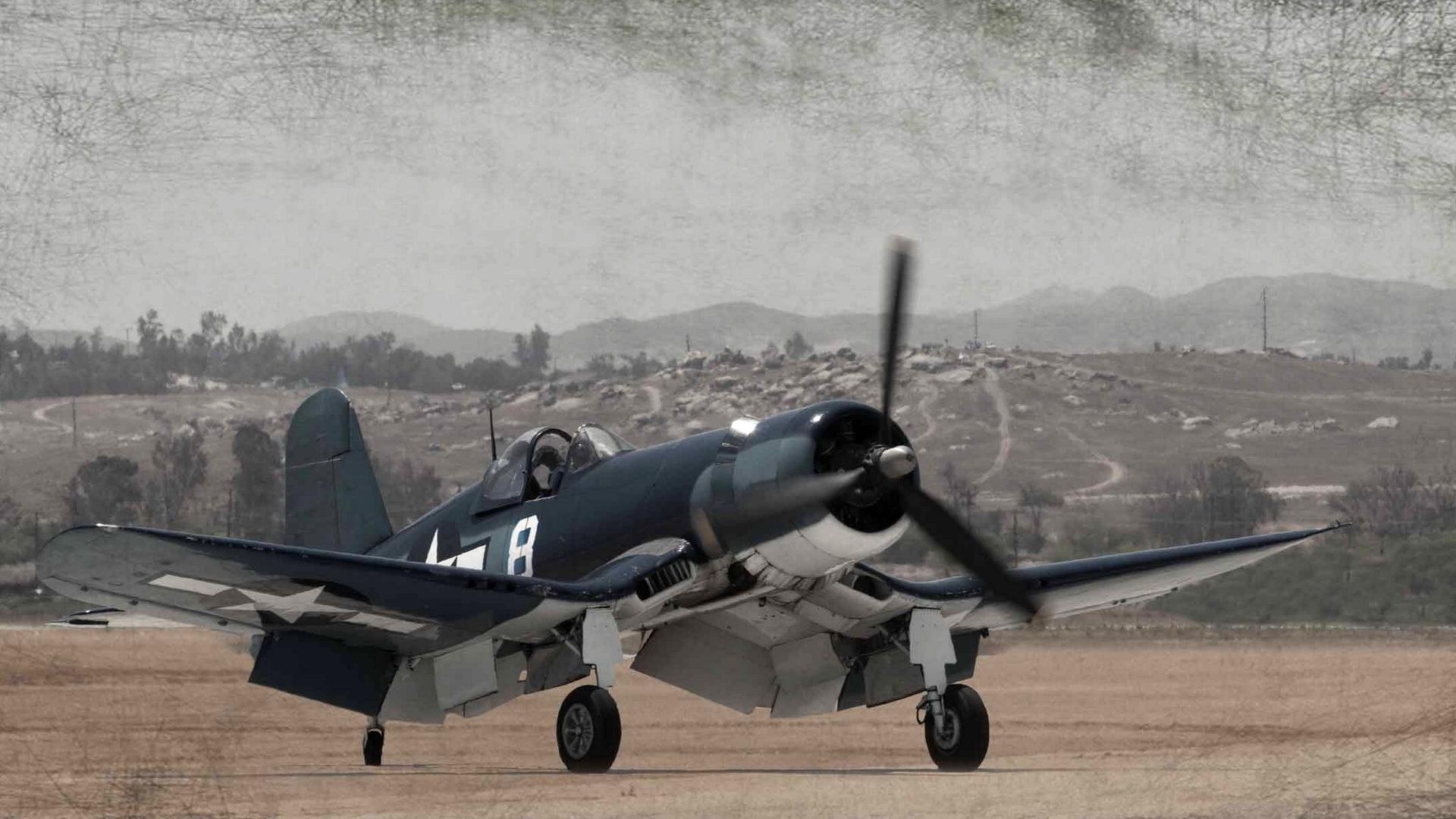 Vought F4U Corsair HD Wallpaper