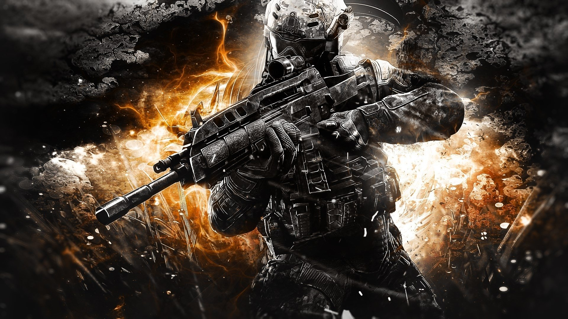 Call Of Duty: Black Ops II Full HD Wallpaper And