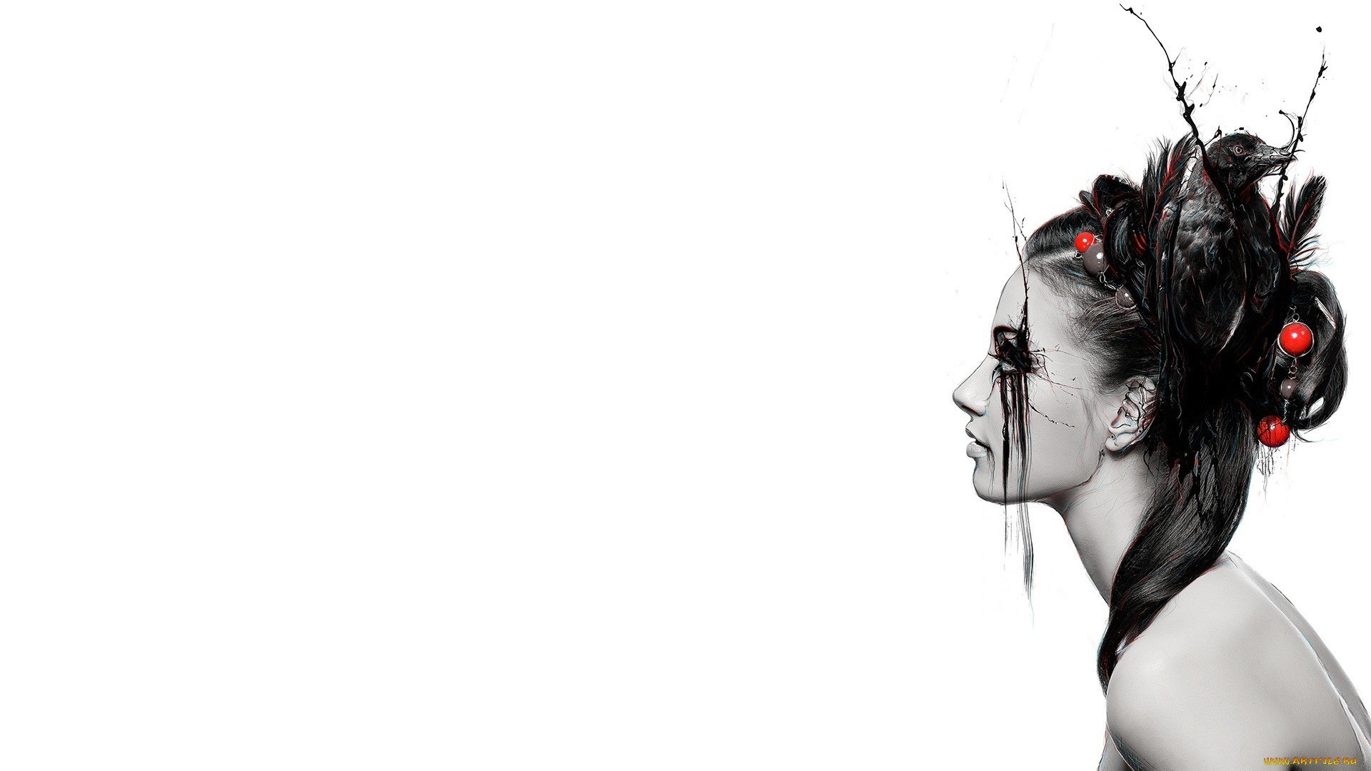 Model full hd wallpaper and background image 1920x1080 - White abstract background hd ...