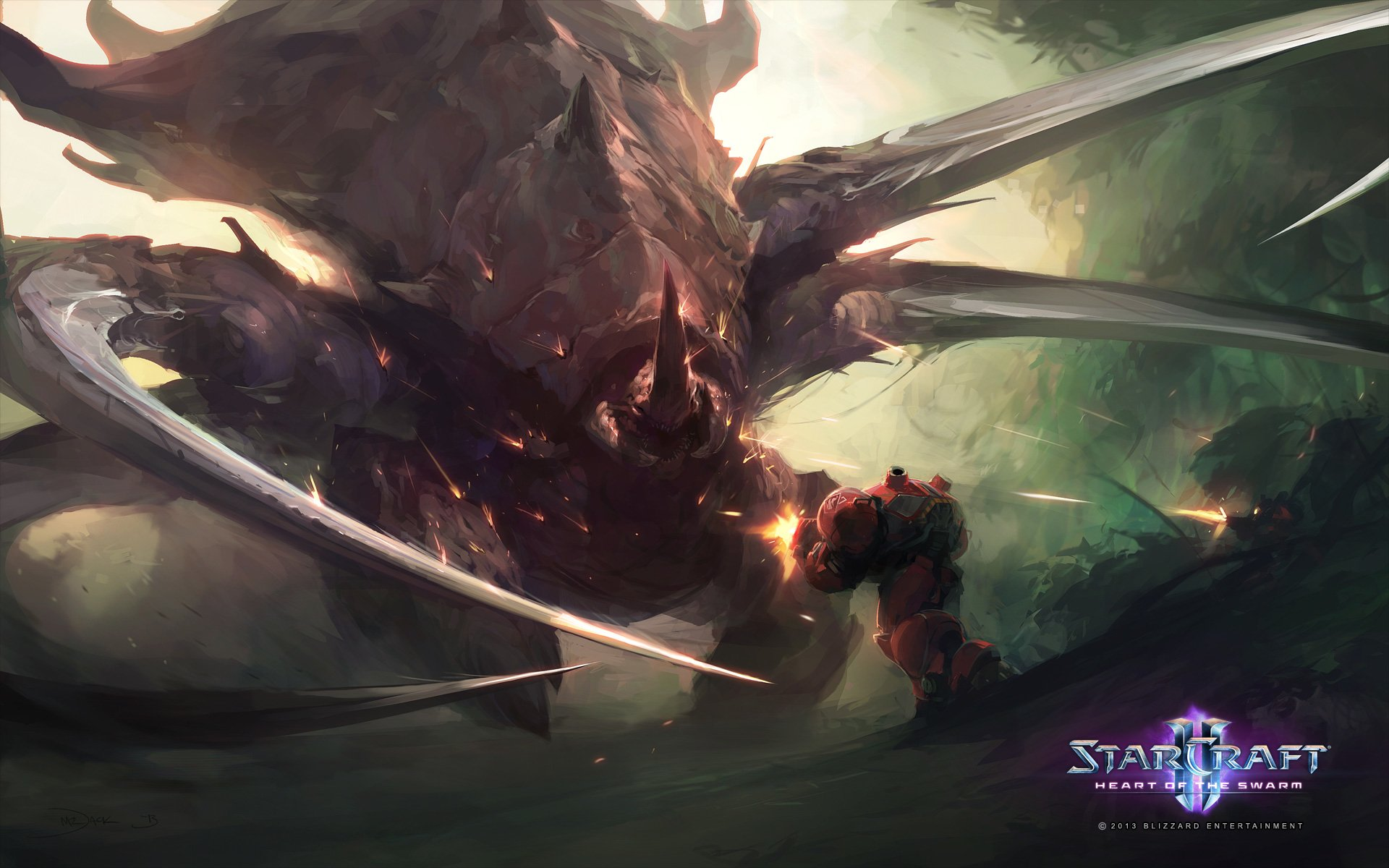 67 Starcraft Ii Heart Of The Swarm Hd Wallpapers