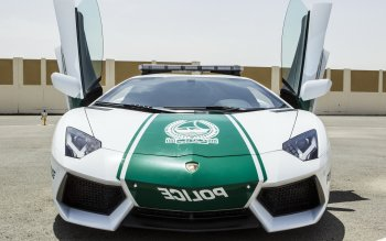 Vehicles - Uae Dubai Police Lamborghini Wallpapers and Backgrounds ID : 394362