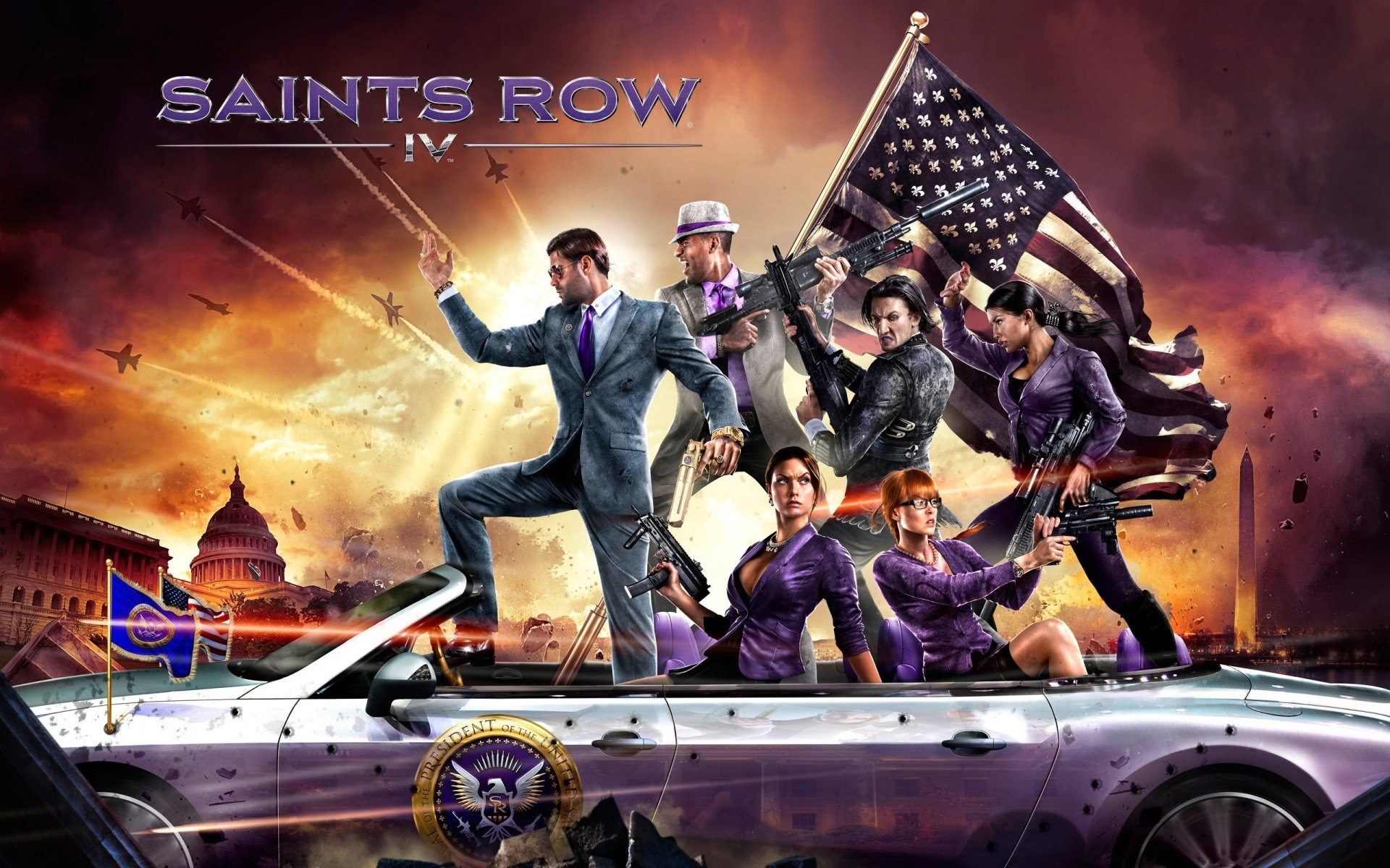 23 Saints Row IV HD Wallpapers | Background Images - Wallpaper Abyss