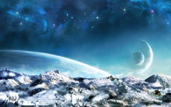 Sci Fi - Planet Rise Wallpapers and Backgrounds ID : 395693
