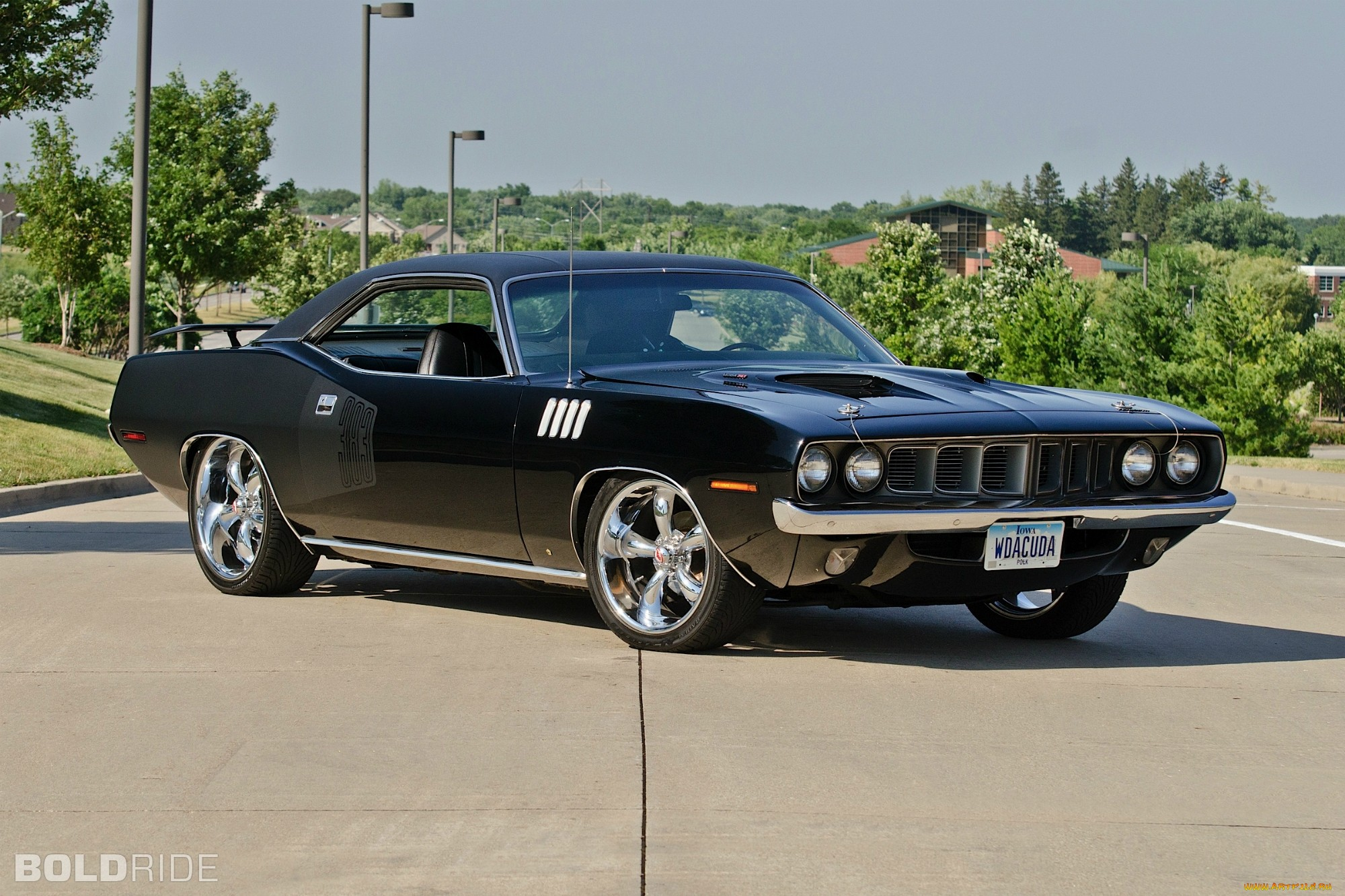 Automobile Car Seat Covers 1971 Plymouth Barracuda HD Wallpapers | Backgrounds - Wallpaper ...