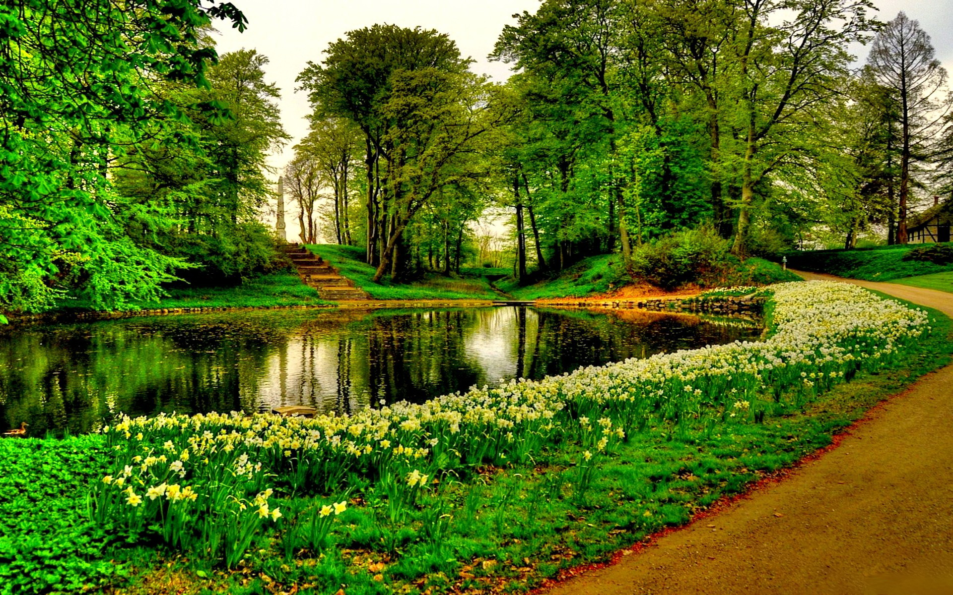Park full hd wallpaper and background image 1920x1200 for Nature wallpaper for walls