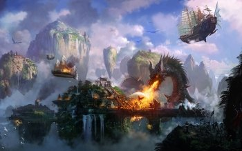 Fantasy - Dragon Wallpapers and Backgrounds ID : 397643