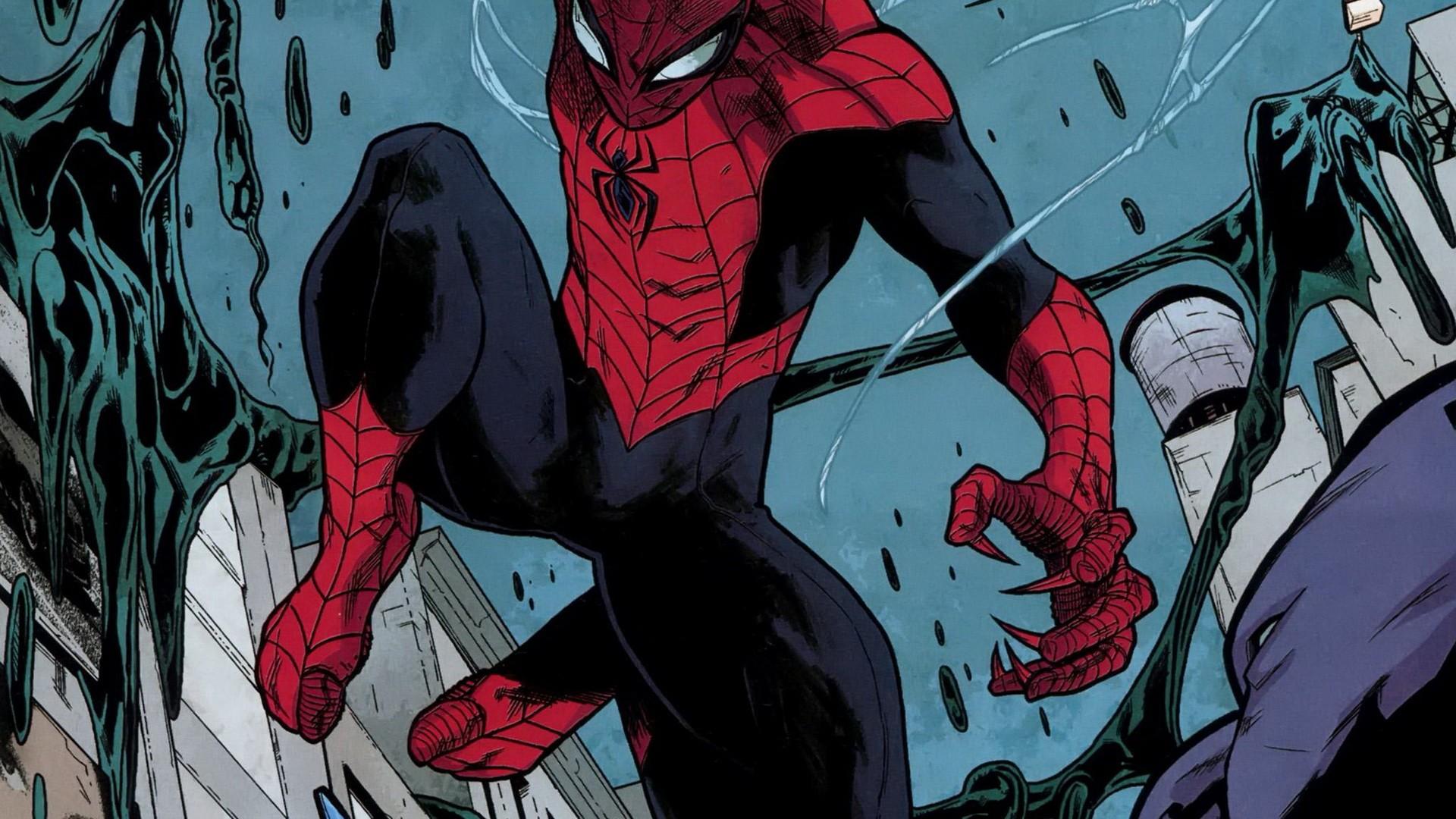 Spider man comic wallpaper - photo#17