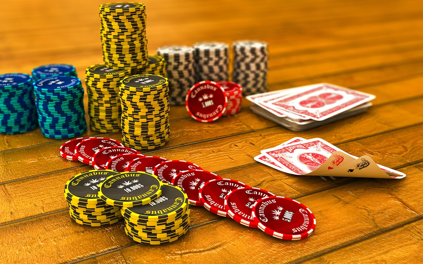Poker Chips Also Known As Casino Chips Or Tokens Wallpaper And