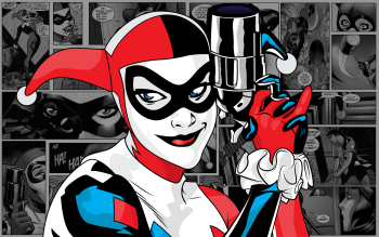 Comics - Harley Quinn Wallpapers and Backgrounds ID : 398890