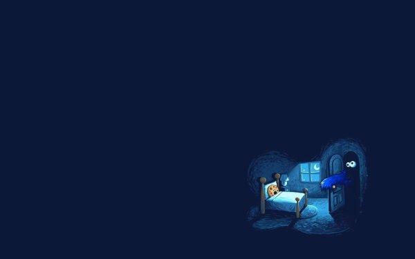 Humor Fun Art Cookie Monster HD Wallpaper | Background Image