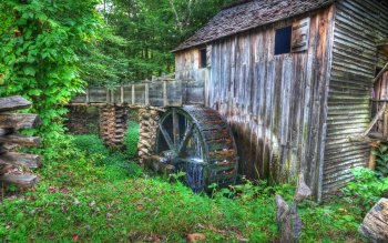 Man Made - Grist Mill Wallpapers and Backgrounds ID : 399495