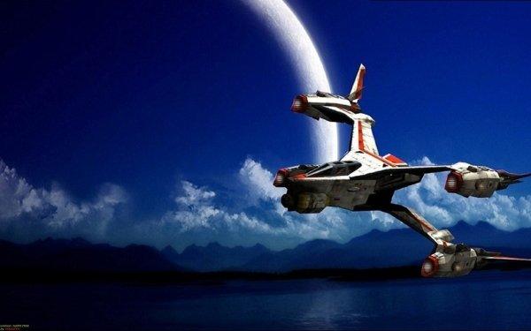 TV Show Babylon 5 Spaceship Planet Moon HD Wallpaper | Background Image