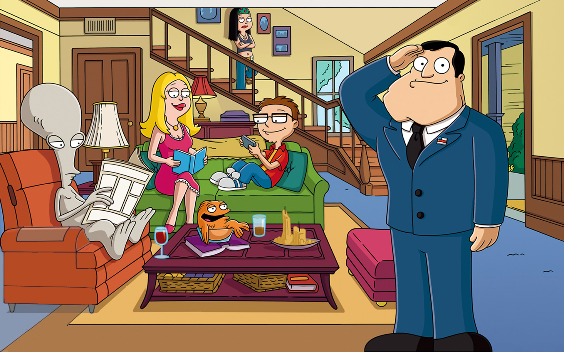 american dad wallpapers - photo #23