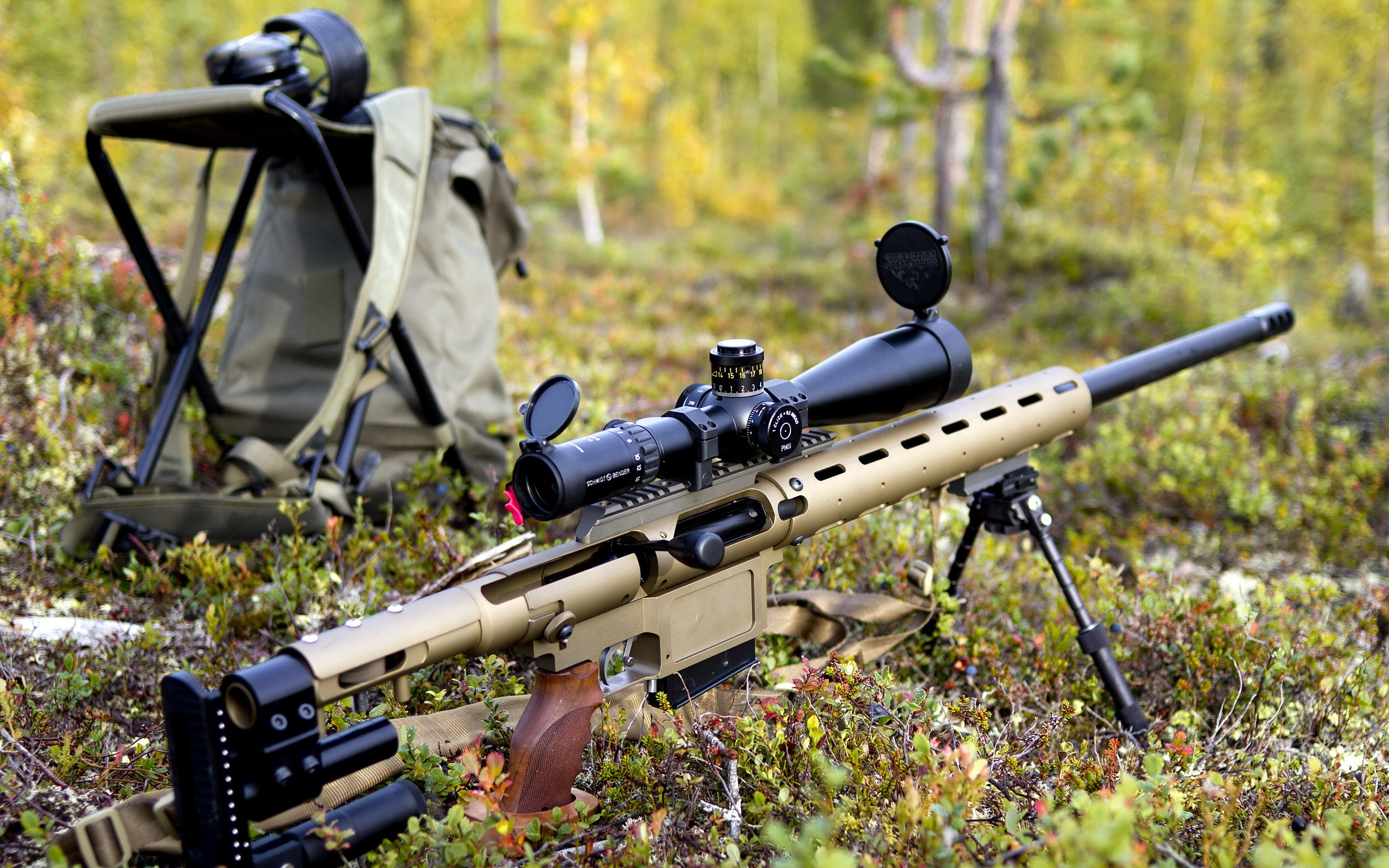 Lapua 338 Sniper Rifle HD Wallpaper