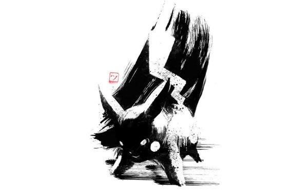 Video Game Pokémon Pikachu Black & White HD Wallpaper   Background Image