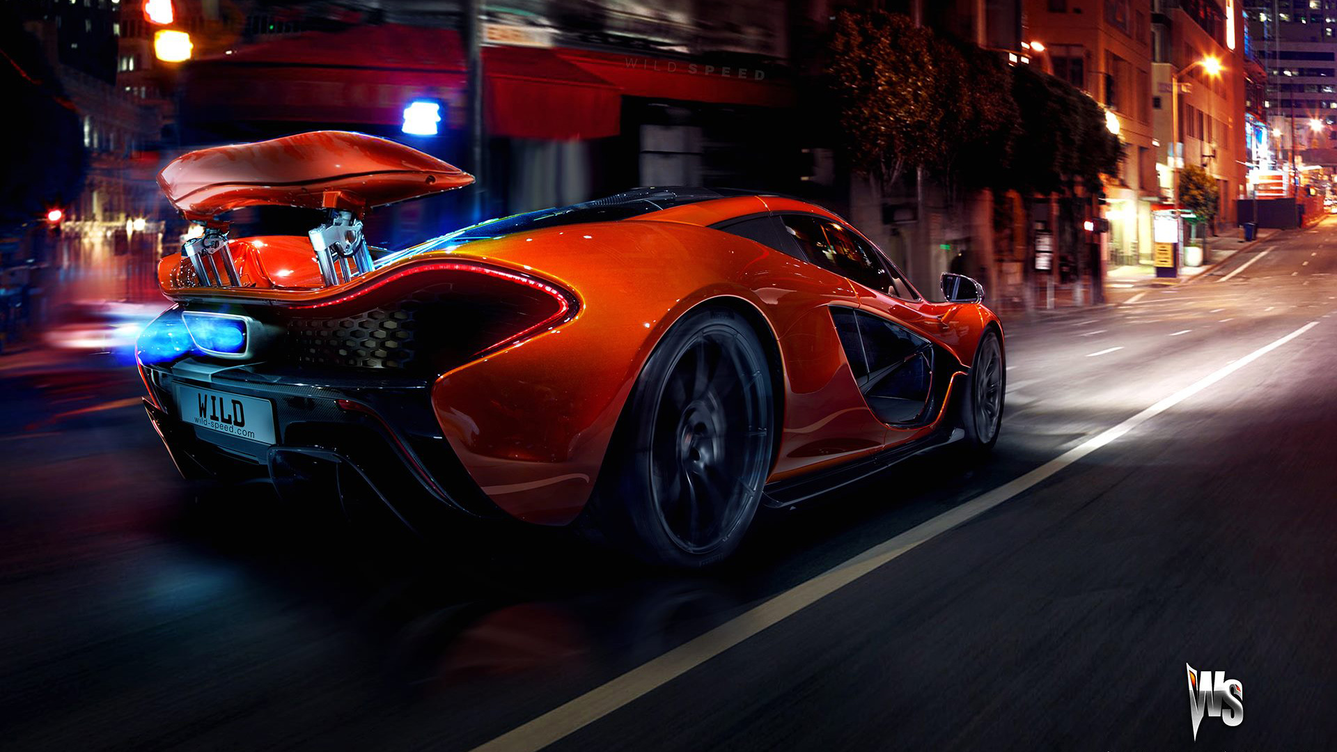 Mclaren P1 Wallpaper Hd >> Mclaren P1 Hd Wallpaper Background Image 1920x1080 Id 402097