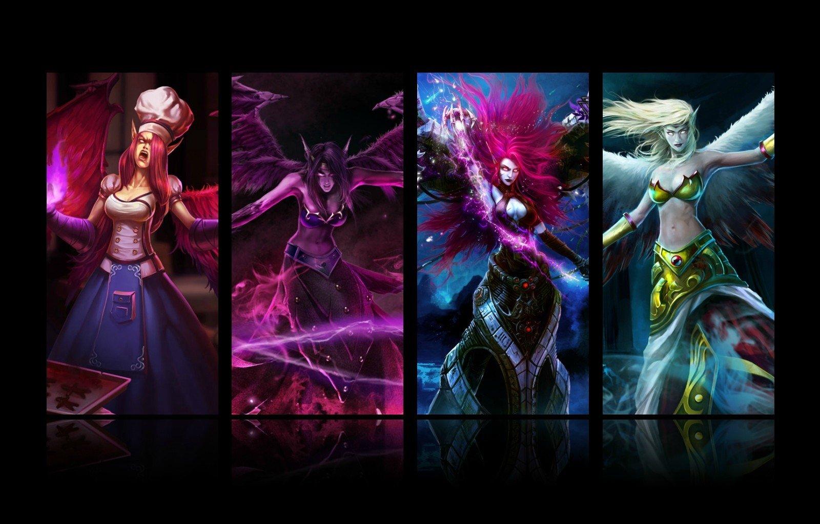 Video Game - League Of Legends  Morgana (League Of Legends) Wallpaper