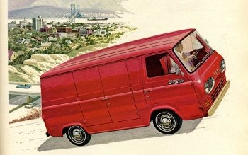 Preview Vehicles - 1965 Ford Econoline Art