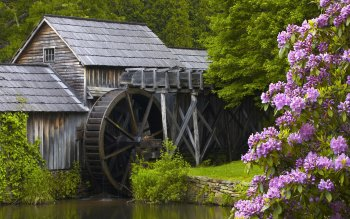 Man Made - Grist Mill Wallpapers and Backgrounds ID : 402730