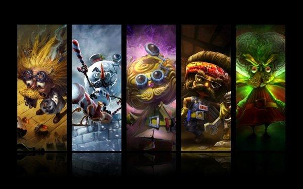 Video Game League Of Legends Heimerdinger HD Wallpaper | Background Image