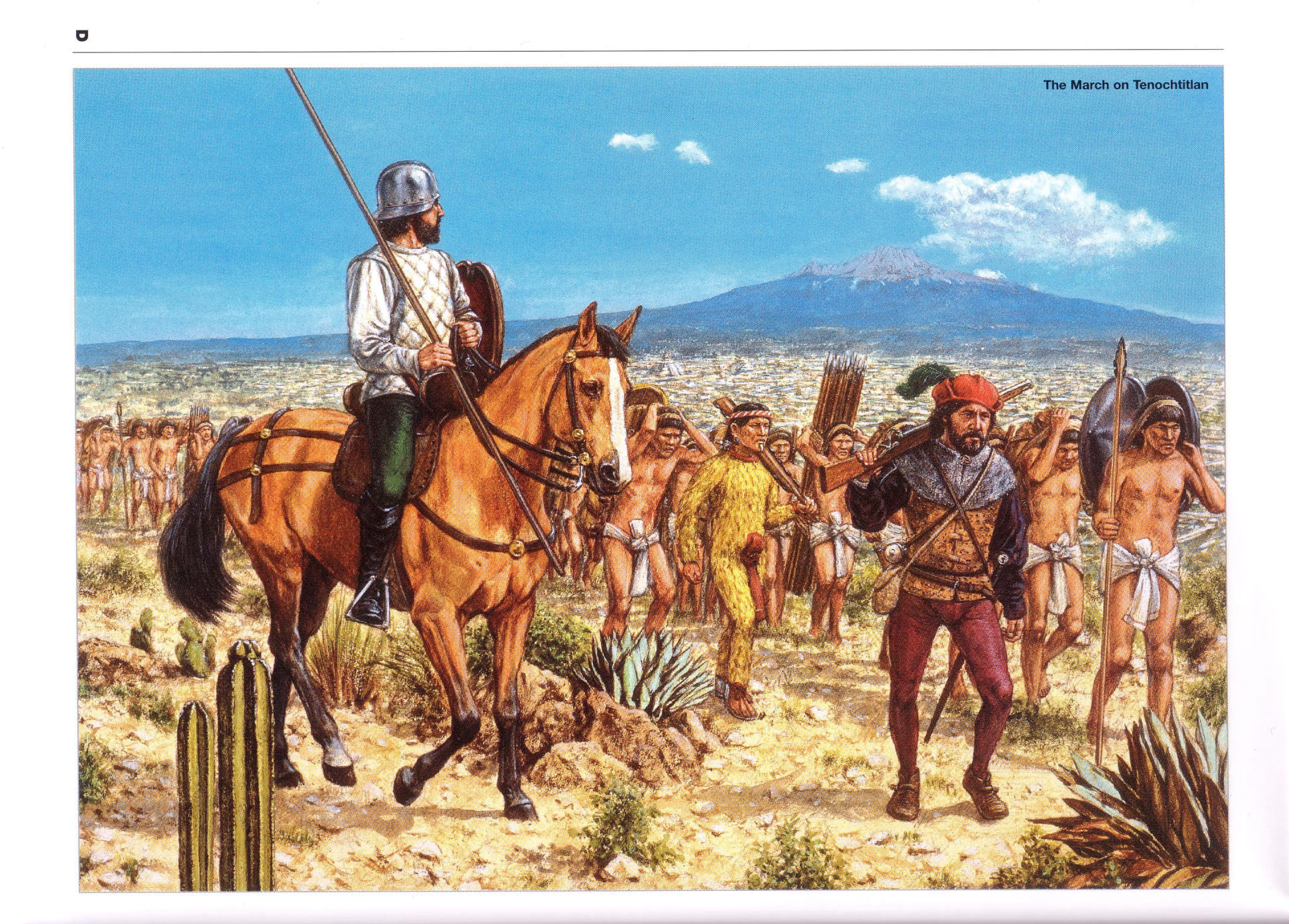 the conquest of the americas Summary: conquest of the americas name date chapter 3, lesson 4 cortés conquers the aztecs european rulers wanted explorers to find riches to bring back to europe hernán cortés led an.