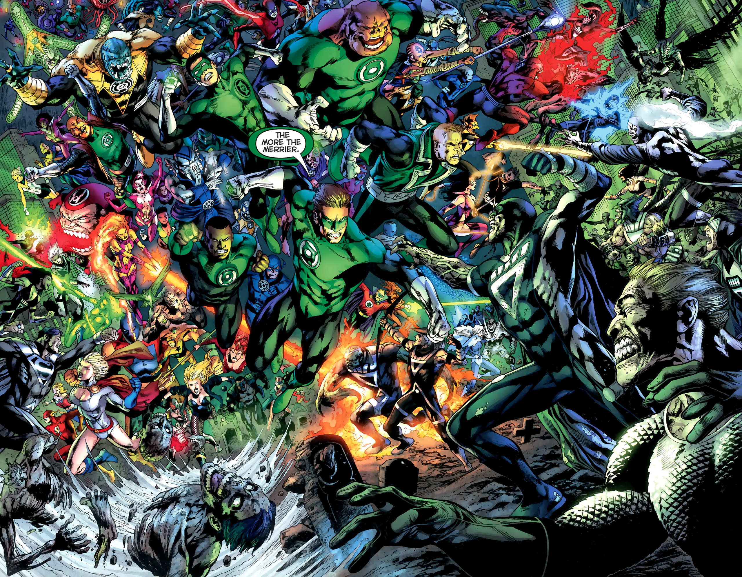 Green Lantern Corps HD Wallpaper