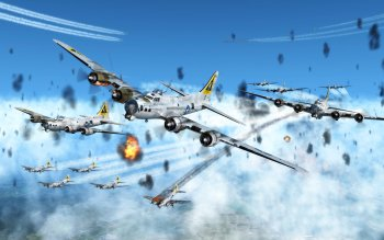 Militär - Boeing B-17 Flying Fortress Wallpapers and Backgrounds ID : 404533
