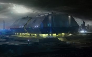 Sci Fi - Building Wallpapers and Backgrounds