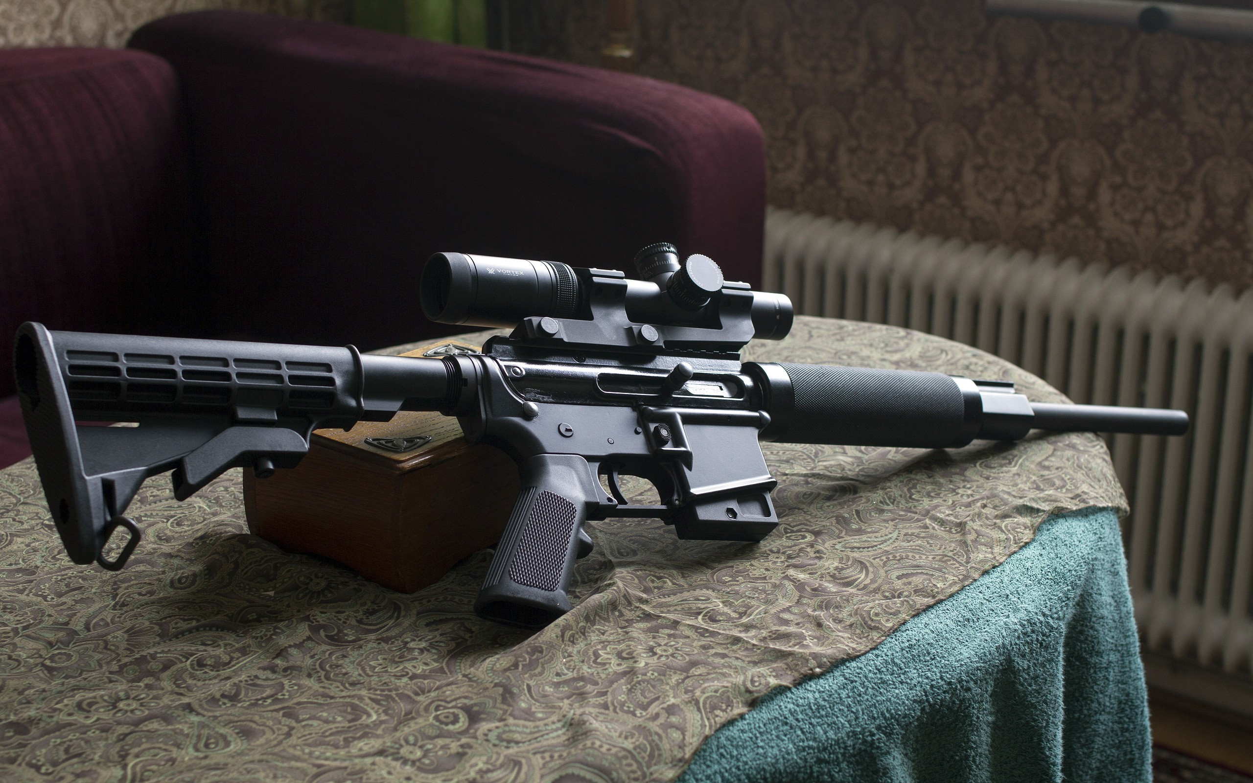 Ar 15 Wallpaper Download Free Beautiful Full Hd: Colt AR-15 Full HD Wallpaper And Background Image