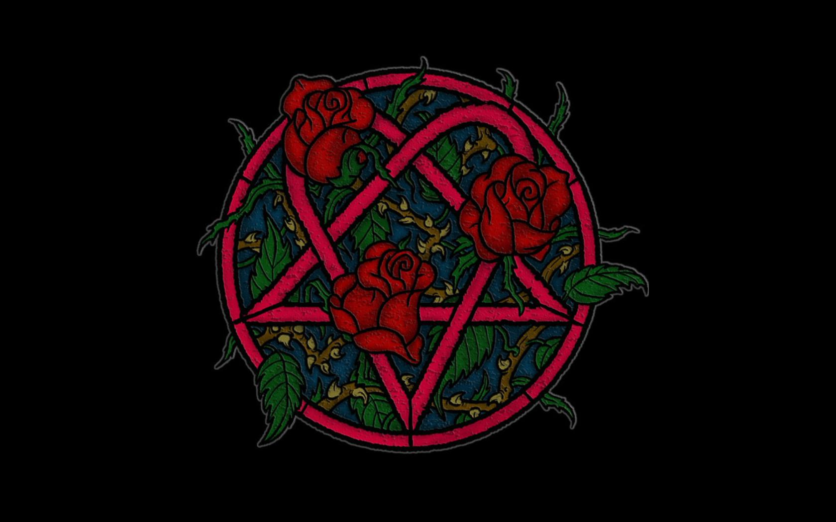 Music - Heartagram Him Logo Rose Wallpaper