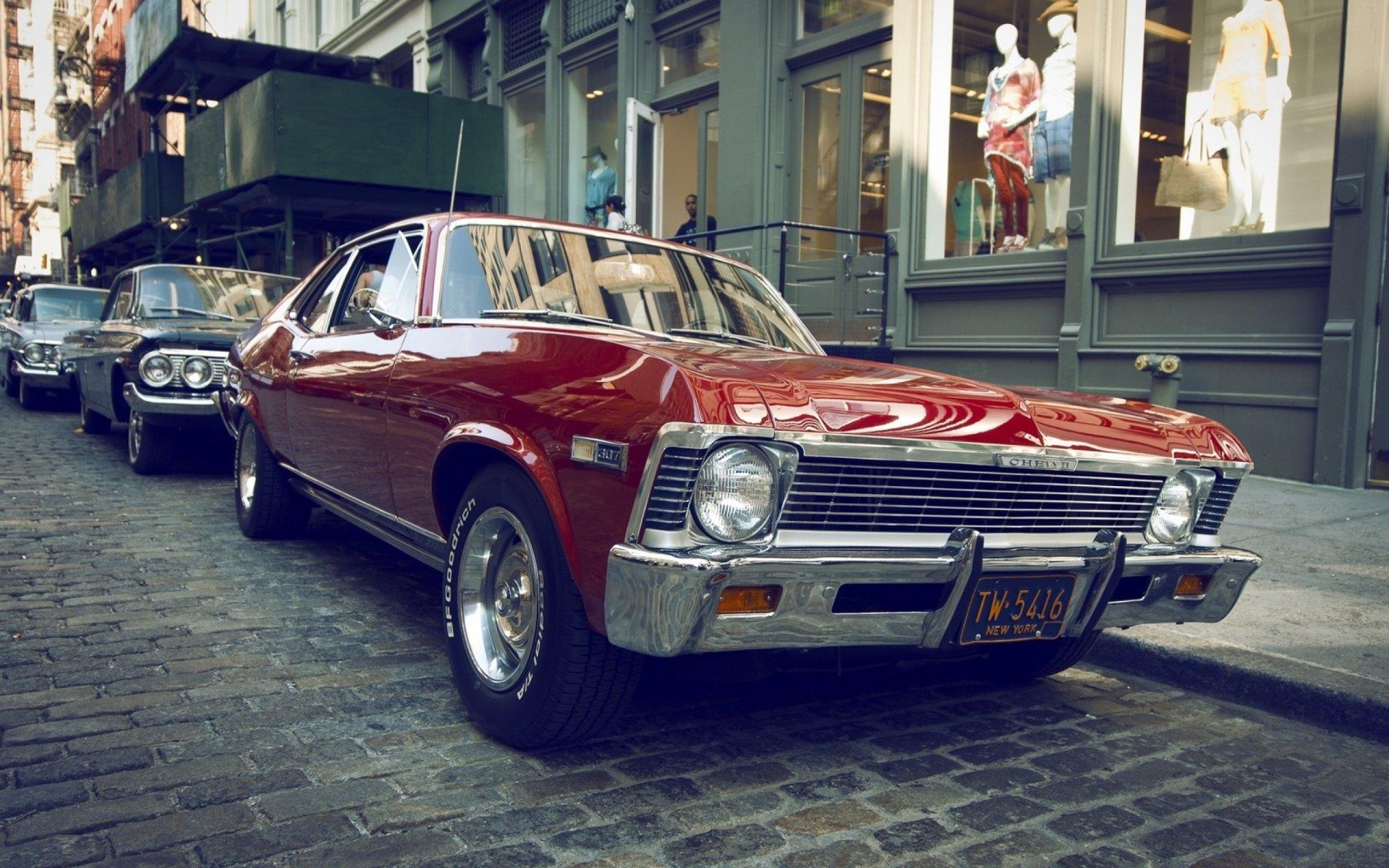 Classic Car HD Wallpaper