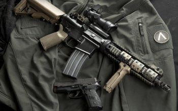 Weapons - Ar-15 Assault Rifle Wallpapers and Backgrounds ID : 406373