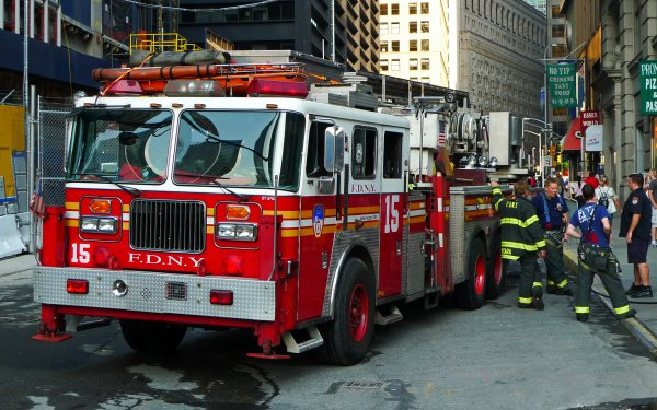 Vehicles Fire Truck Truck Fire Engine Firefighter HD Wallpaper   Background Image