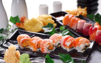 Alimento - Sushi Wallpapers and Backgrounds ID : 408458