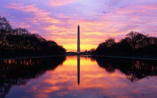 Man Made Washington Monument Monuments HD Wallpaper | Background Image