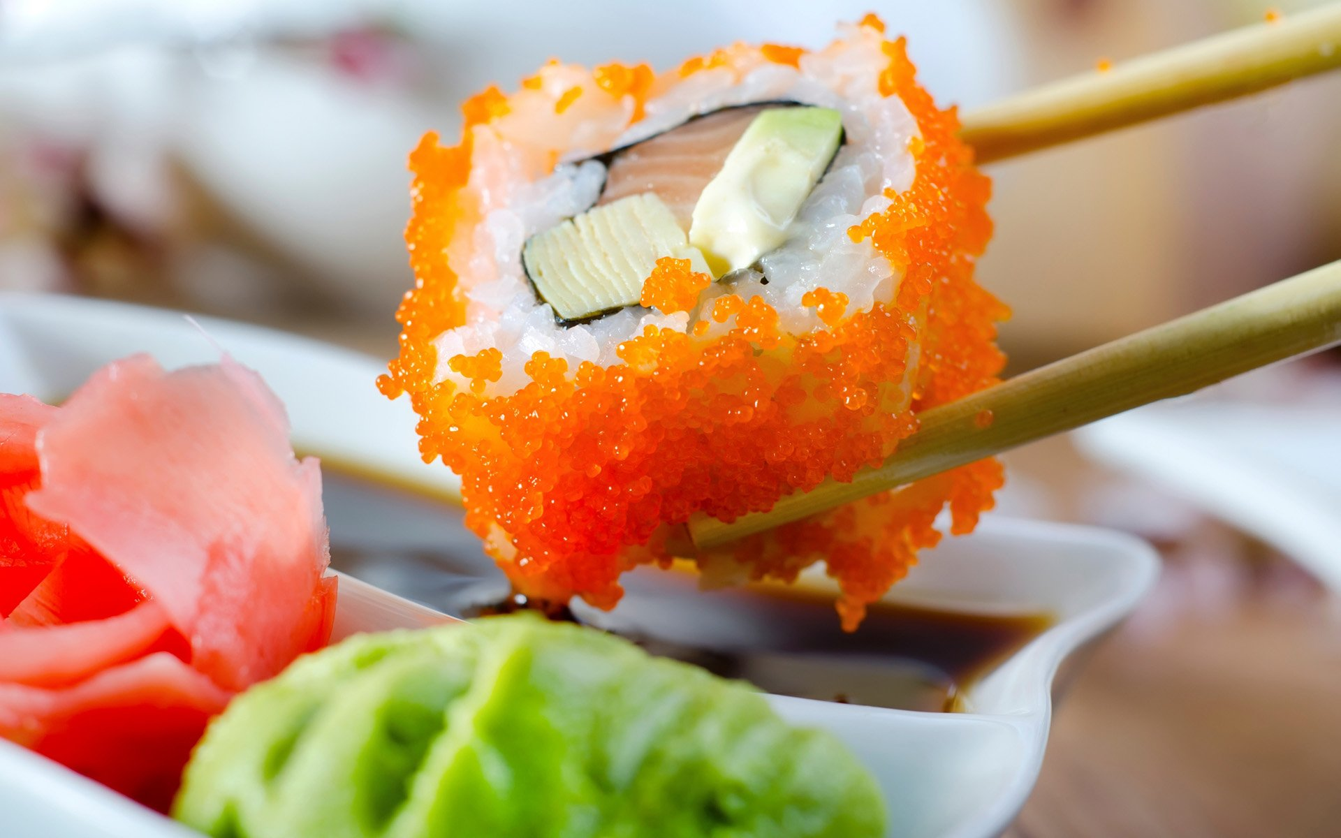 Food - Sushi  Wallpaper