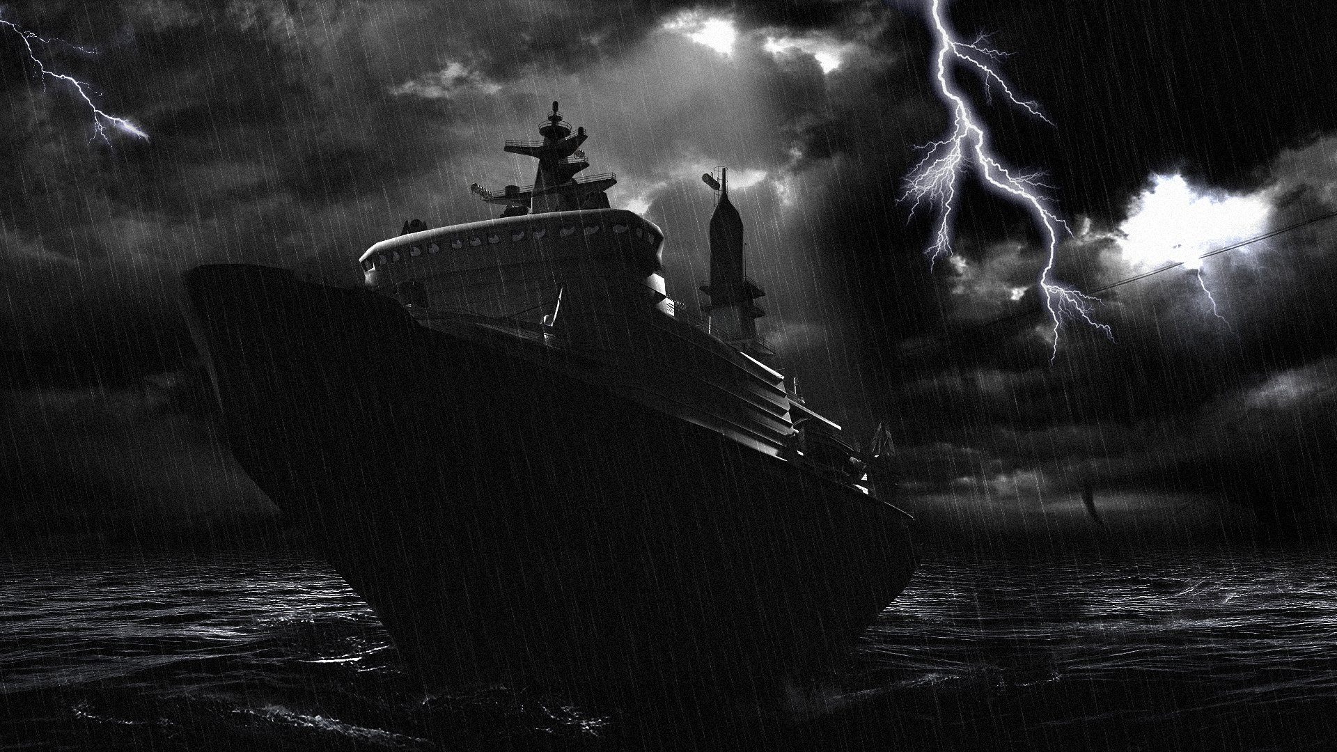 ship storm full hd wallpaper and background | 1920x1080 | id:410703