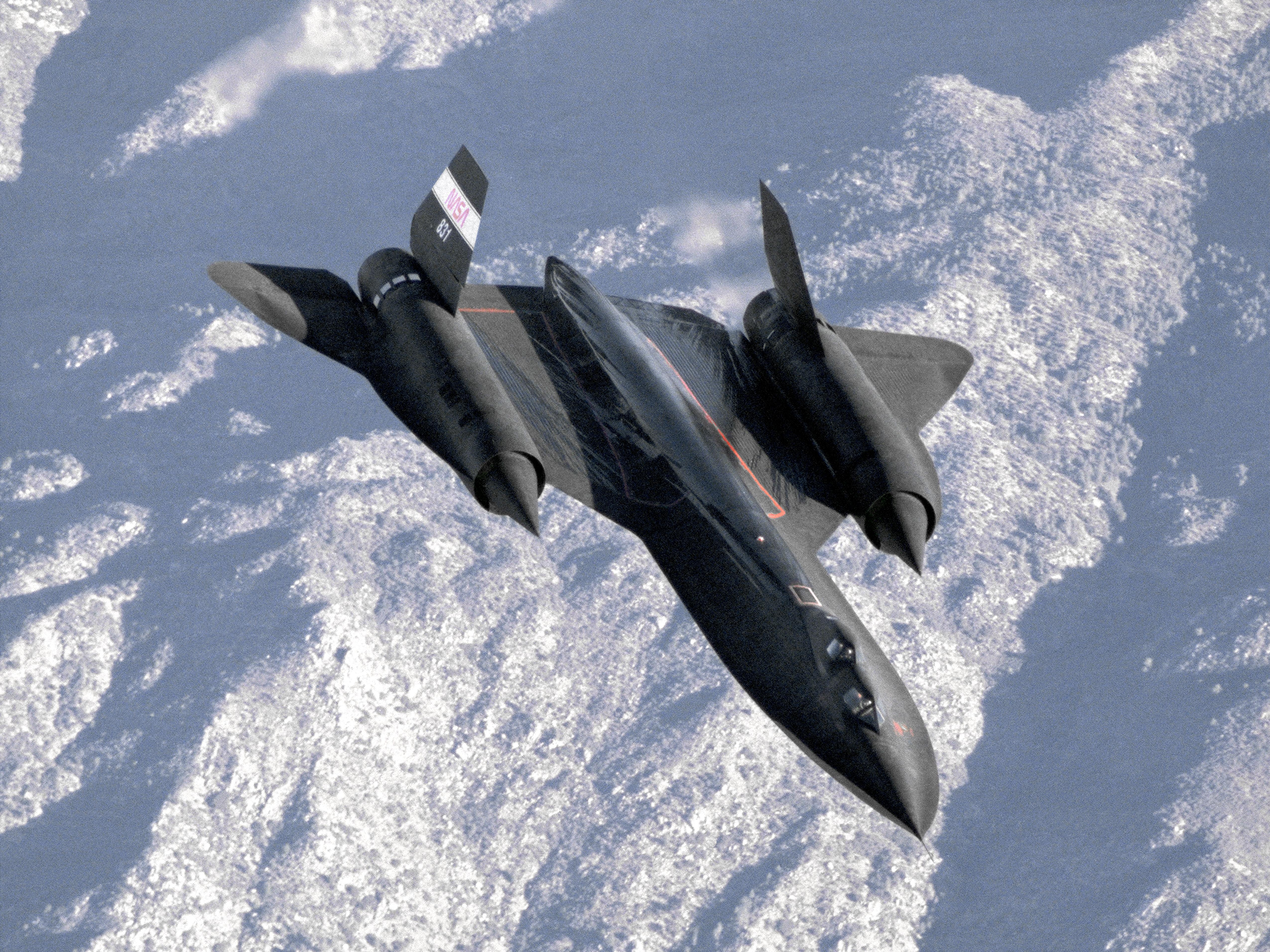 Lockheed Sr 71 Blackbird 4k Ultra Fondo De Pantalla Hd